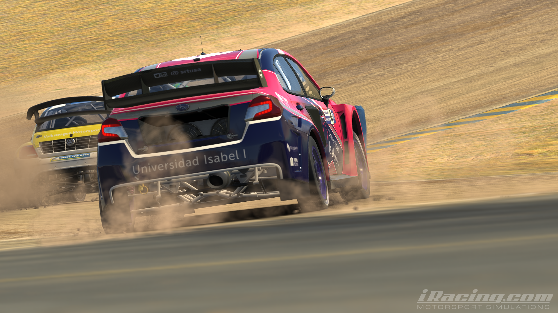 Our team will be in the in the iRacing Rallycross World Championship