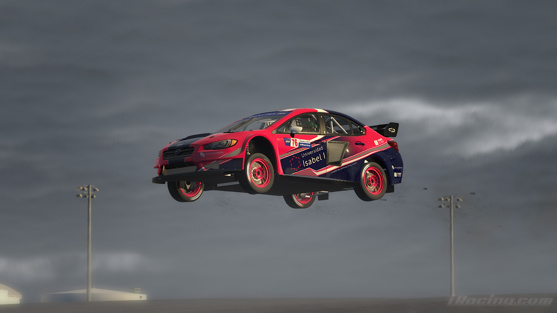 iRacing Rally Cross World Championship. Ecuador de la temporada